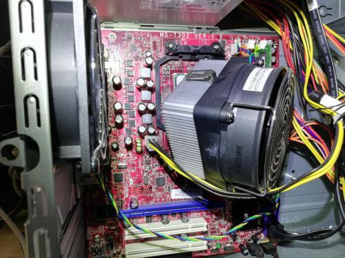 CPU Lüfter Halterung gebrochen